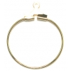 Earhoop Round Gold 20mm